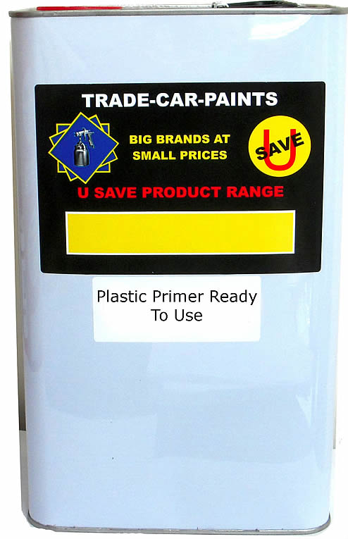 Plastic Primer Clear RFU 5Litre For Bumpers & Trim